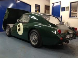 Lumbertubs Austin-Healey Sprite race car 2