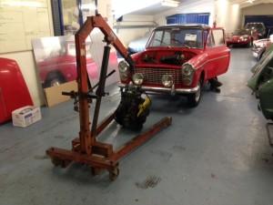 fast road Austin A40 build