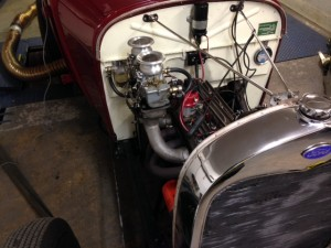 Model A Ford traditional hot rod VHRA rolling road tuning four banger