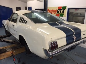 65 Mustang fastback service