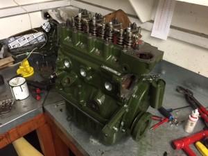 Austin A40 fast road 1293cc a-series engine