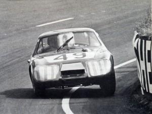 Austin-Healey Sprite Le Mans HNX455D Paddy Hopkrik