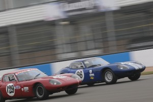 Ian Cox - Marcos 1800 GT & Peter Thompson Marcos 1800 GT