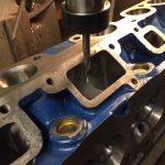 Falcon 250-2v cylinder head machining