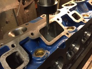 Falcon 250-2v cylinder head machining