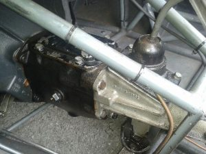Ginetta G4 Ford type 3 gearbox change