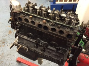 Ginetta G4 race preparation Ford pre crossflow engine