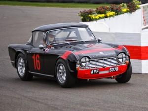 Griffiths Triumph TR4 Goodwood chicane