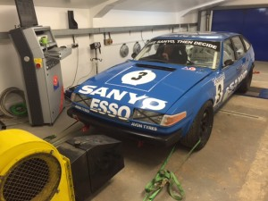 Group 1 Rover SD1 Goodwood Members Meeting
