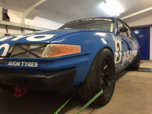 Group 1 Rover SD1 Goodwood Members Meeting Rolling Road
