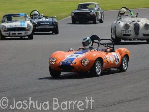 Ian Burford Ginetta G4 Oulton Park Gold Cup cck historic
