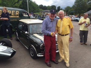 John Rhodes Paddy Hopkirk Cooper 70th Anniversary Prescott Hill