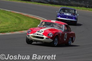 Larry Tucker Ashley GT Castle Combe HSCC HRS