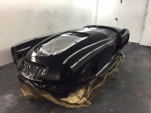 MGA restoration black paint