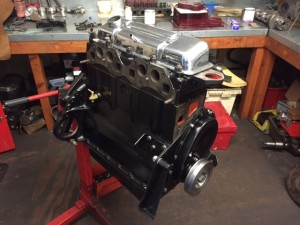 TR4A road engine rebuild