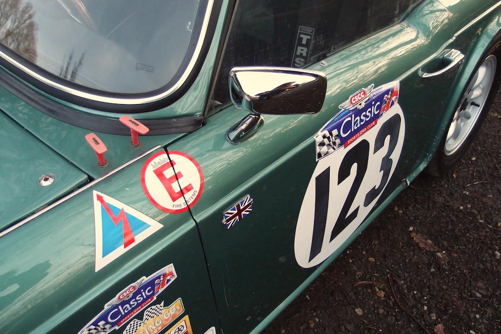 CCK Historic   1964 Triumph TR4 race car FOR SALE