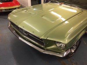 lime-gold-68-mustang-convertible-front