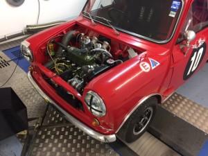 minisport cck historic fia mini cooper s rolling road tune 2