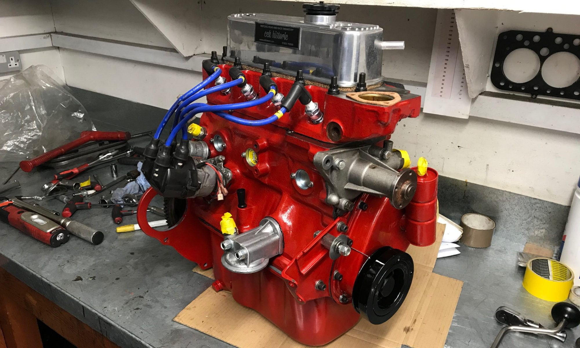 1380cc race engine build