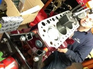 1950cc MGB race engine rebuild