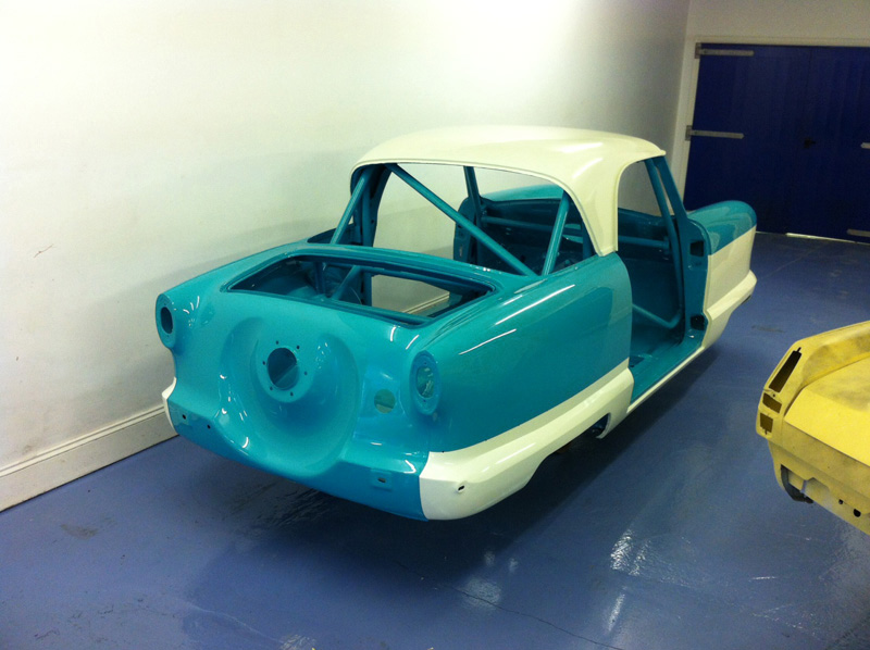 Nash Metropolitan Race Car Shell Painted