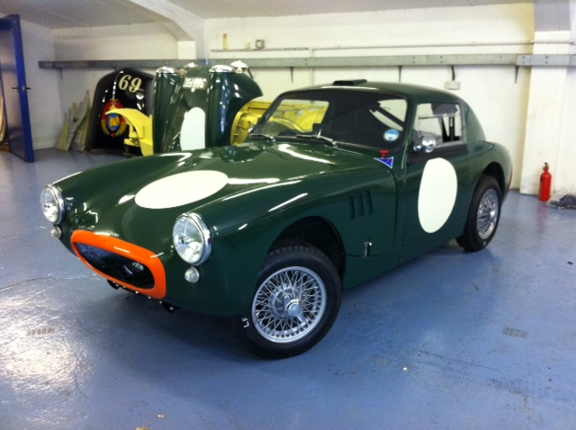 Two Cars Prepped For Burford Cck Historic