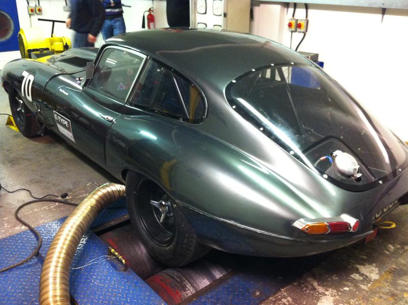 Jaguar Rolling Road Cck Historic