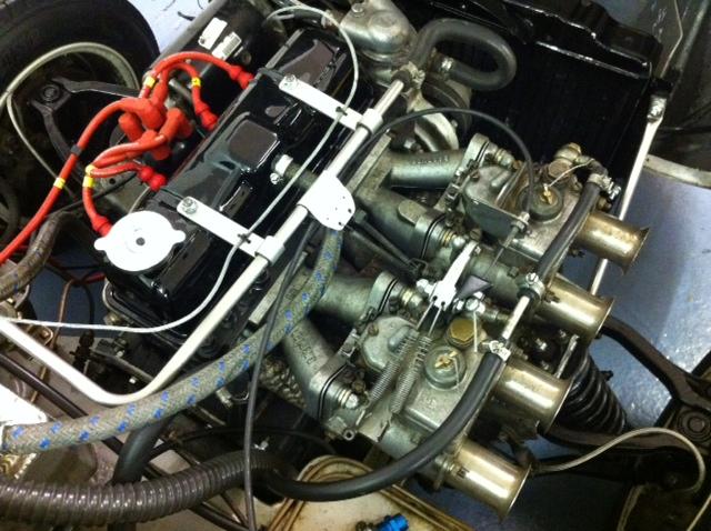 Cck Historic Rare Triumph Lenham Spitfire Gt For Winter Service
