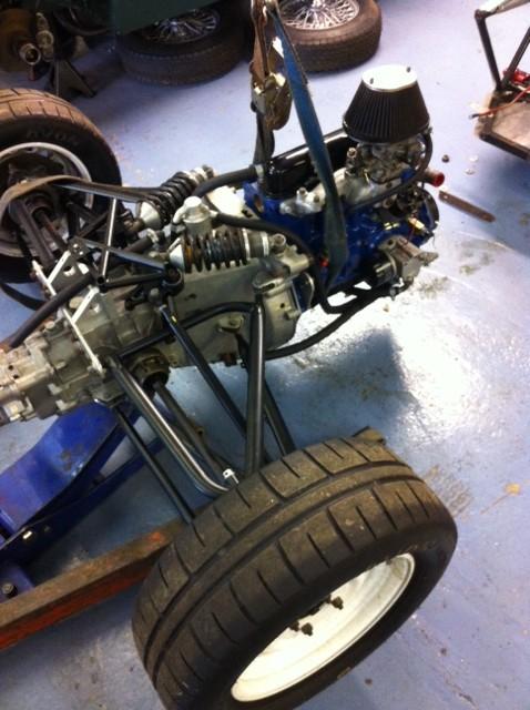 Cck Historic Formula Ford 1600 Chassis Repair