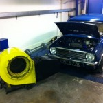 Mini Clubman CCK rolling road 3