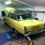 rover p6 v8 rolling road