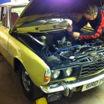 rover p6 v8 rolling road 3