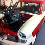 New engine for Standard Vanguard