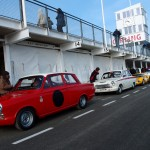 HRDC Goodwood trackday Ford Cortina