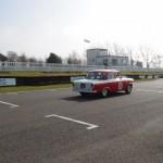 HRDC Goodwood trackday Standard Vanguard