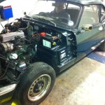 Triumph Spitfire rolling road tuning 2