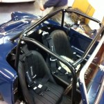 Custom roll cage for historic race cars