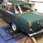 Rover P6 rolling road tune