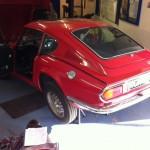 Triumph GT6 overdrive conversion