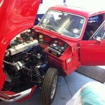 Triumph GT6 overdrive conversion 2