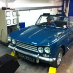 Triumph Vitesse of Southern Classics Society