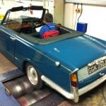 Triumph Vitesse rolling road tune