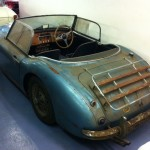 Austin-Healey 3000 barn find 2
