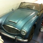 Austin-Healey 3000 barn find 3