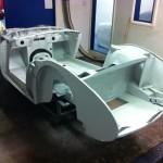 Austin Healey 3000 zinc phosphate coated