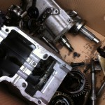 Assorted gearbox parts for Rover P4