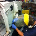 Austin A35 restoration 4