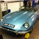 Jaguar etype rolling road diagnosis