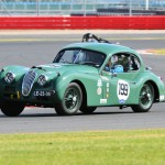 Joao Mira-Gomes Jaguar XK 140 Silverstone Classic CCK Historic 2