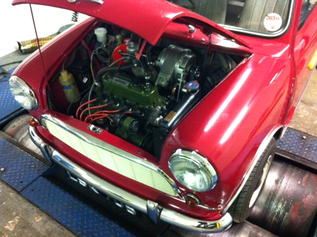 CCK Historic | John Simister's supercharged 1959 Morris Mini